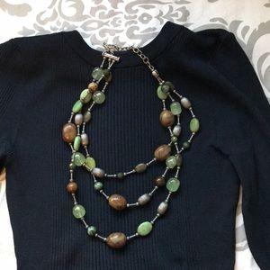 Brighton Silver & Stone Necklace